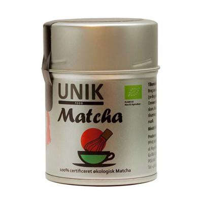 Matcha grøn te Økologisk fra Unik Food - 40 gram