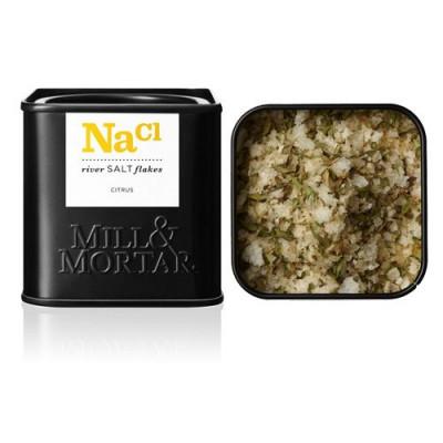 Citrussalt i flager Mill & Mortar - 70 gram