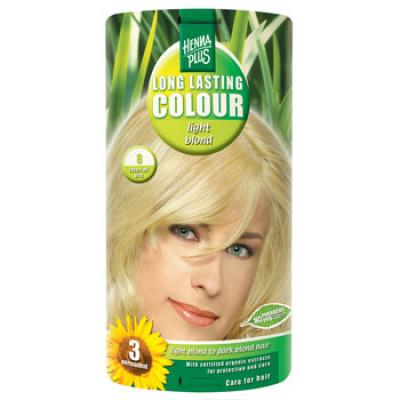 Hennaplus 8 Hårfarve Light Blond (40 ml)