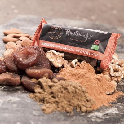 Bar Raw Snacks Apricot Cinnamon Proteinø (40 gr)