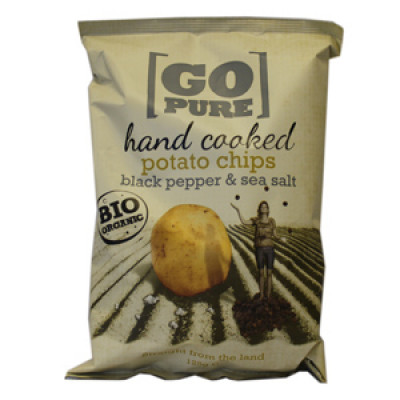 Chips m. Salt og Peber Ø Pure Chips (125 gr)