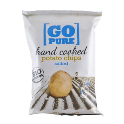 Go Pure Chips m. Salt Ø (125 gr)