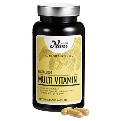 Nani Food State Multivitamin (150 kapsler)