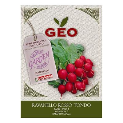 Radisefrø Økologiske - 8 gram