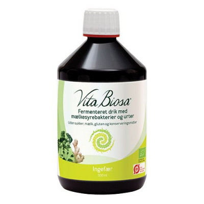 Vita Biosa Ingefær økologisk - 500 ml.