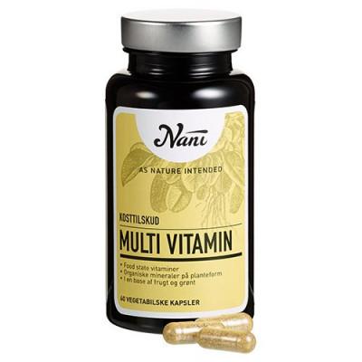 Nani Food State Multivitamin (60 kapsler)