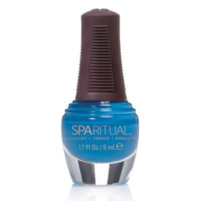 SpaRituals Neglelak Mini Turkisblå 88371 (5 ml)