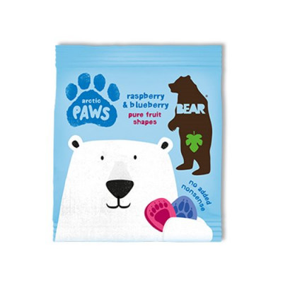 Bear Arctic Paws hindbær & blåbær (20 g)