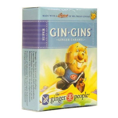 GIN-GINS Ingefær karamel - 31 gram