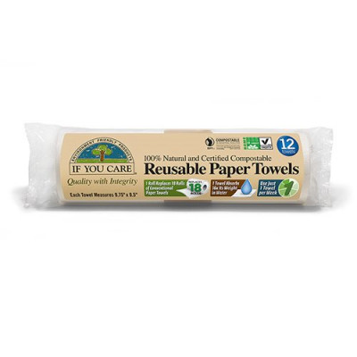 If you care, reusable paper towels