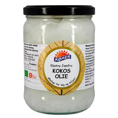 Rømer Kokosolie Ekstra Jomfru Koldpresset Ø (500 ml)