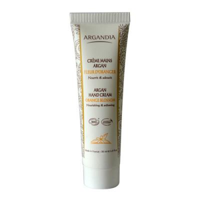Argandia Hand Cream, Orange Blossom - 30 ml.