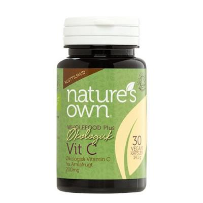Nature's Own Vitamin C fra Amlafrugt Ø (30 kap)
