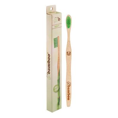 Go Bamboo Tandbørste Bambus Soft Voksne