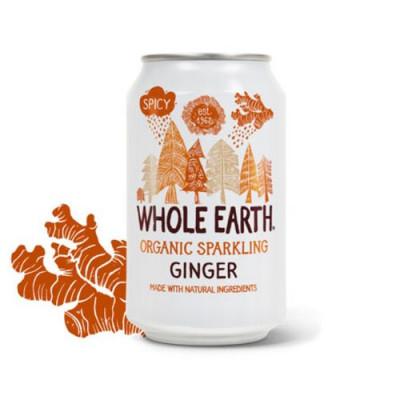 Sodavand Whole Earth Ingefær Økologisk - 330 ml.