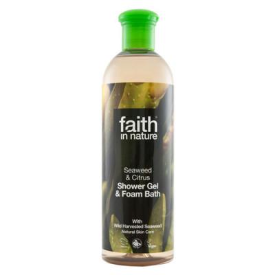 Faith in Nature Alge Ekstrakt Showergel (400 ml)