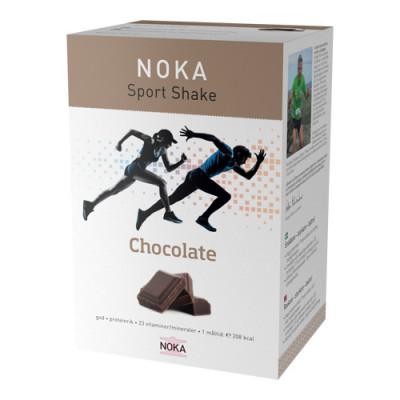 NOKA Milkshake Chokolade - Pakken indeholder 15 måltider (525 gr.)