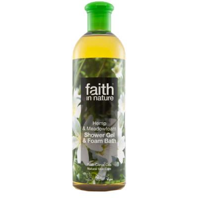 Showergel Hamp & Engrapgræs (400 ml)