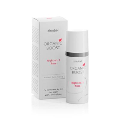 Organic Boost Night No. 1 Rose Natcreme (50 ml)
