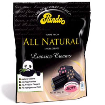 Panda Lakrids Med Creme Fyld (200 gr)