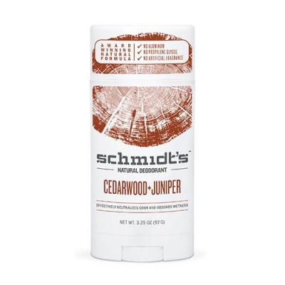 Schmidts Deodorant stick Cedarwood+Juniper - 92 gr