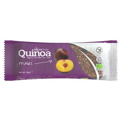 Quinoa Bar med sveske fra NatureCrops - 40 gr