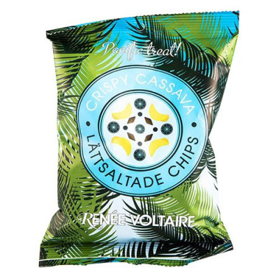 Cassavachips fra Renée Voltaire - 70 gram