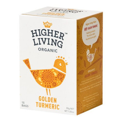 Higher Living Gylden Gurkemeje te Øko - 15 breve