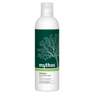 Shampoo til tørt hår Mythos - 300 ml.