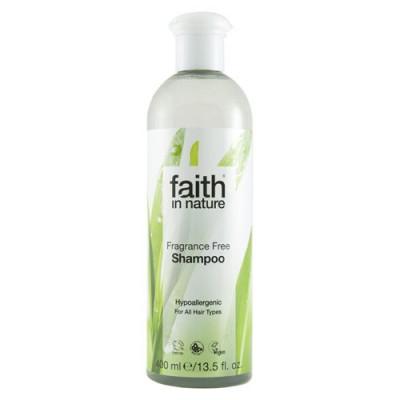 Faith in nature Shampoo Fragance Free - 400 ml.