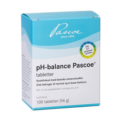 Pascoe pH-balance tabletter (100 tab)