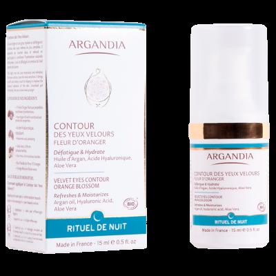 Argandia Velvet Eyes Contour, Orange Blossom (15 ml)