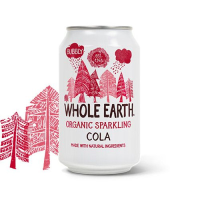 Sodavand Whole Earth Cola økologisk - 330 ml.