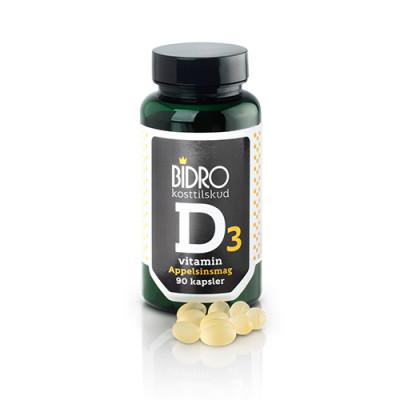 Bidro D-Vitamin (90 kapsler)