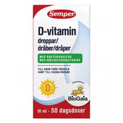 BioGaia D-vitamindråber Semper