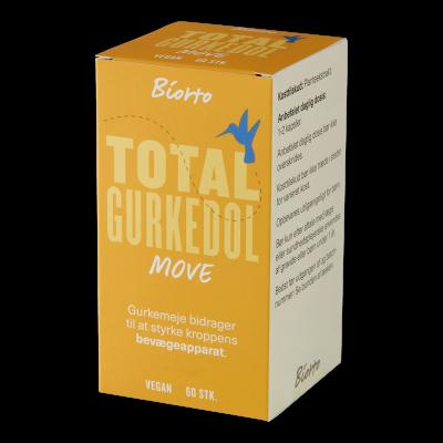 Biorto Total Gurkedol (60 kapsler)