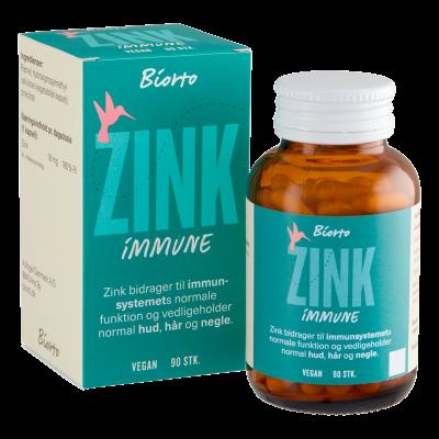 Biorto Zink 18 mg (90 kap)