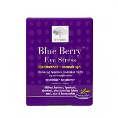 New Nordic Blue Berry Eye Stress (60 tab)