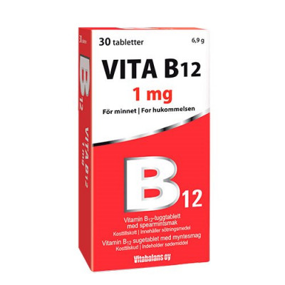 Vitabalans Vita B12 (30 tab)