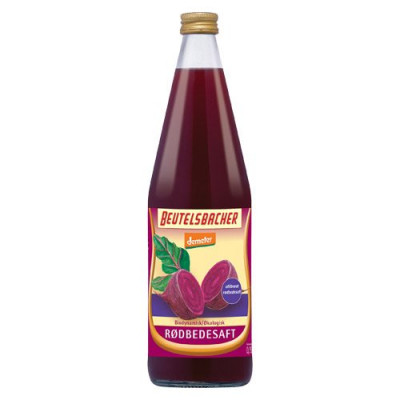 Rødbedesaft Beutelsbacher Økologisk Demeter 750 ml