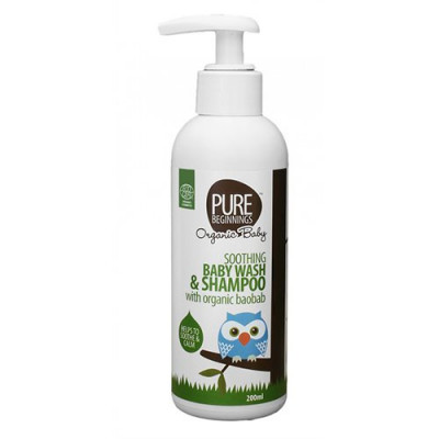 Soothing Baby Wash and Shampoo