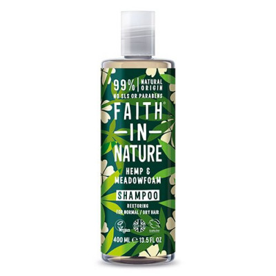 Faith in Nature Shampoo Hamp & Engrapgræs (400 ml)