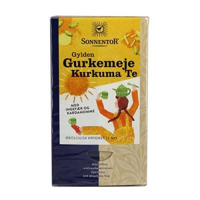 Sonnentor Gurkemeje Kurkuma Te Gylden Ø (18 br)