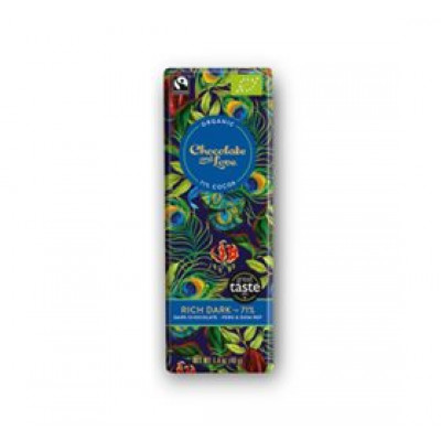 Chokolade Rich Dark 71% Ø (40 g)