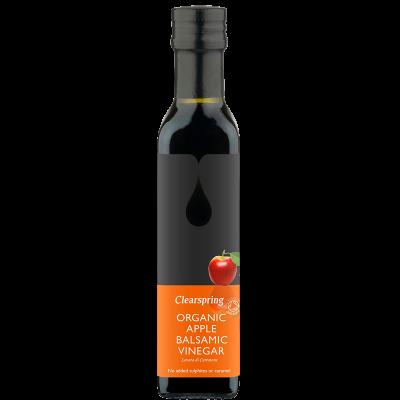 Clearspring Balsamisk Æble Eddike Ø (250 ml)