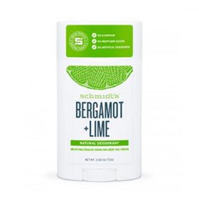 Schmidts Deodorant stick Bergamot & Lime - 75 gr