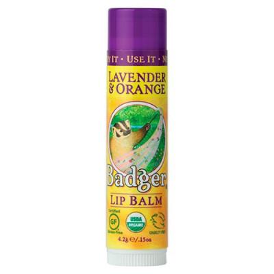 Badger Lip Balm Lavender & Orange (4 g.)