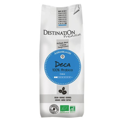 Kaffebønner Deca koffeinfri Økologiske - 250 gram