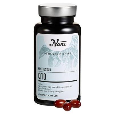 Nani Food State Q10 (60 kapsler)