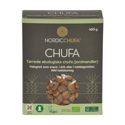 Chufa jordmandler glutenfri Øko - 400 gram